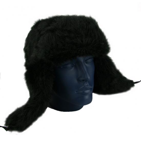 Russische bontmutsen zwart
