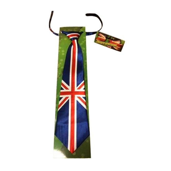 Satijnen Engeland stropdas