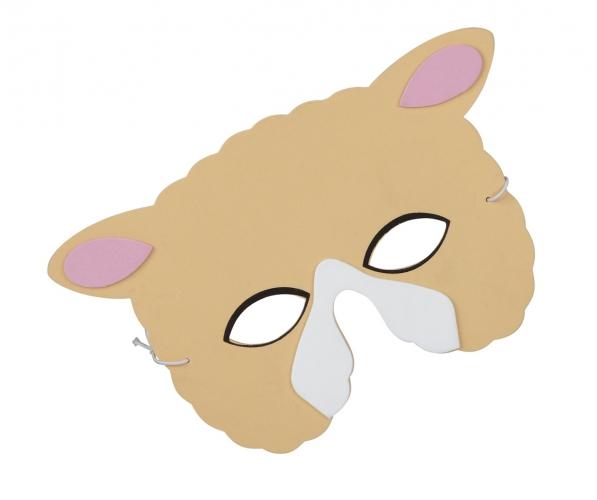 Schapen oogmasker van foam