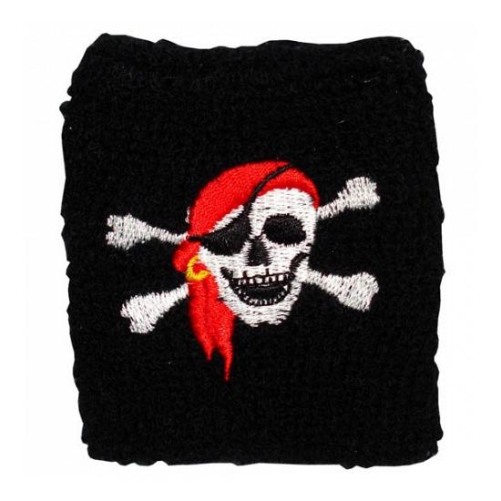 Schedel zweetbandje piraat