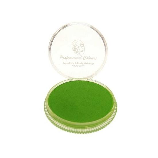 Schmink op waterbasis fel groen
