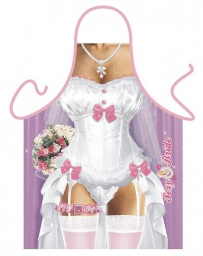 Schort Sexy Bruid