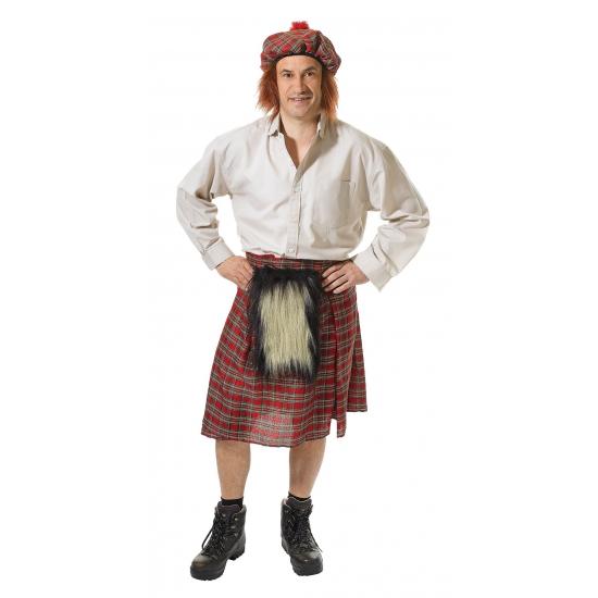 Schots verkleed kostuum voor heren