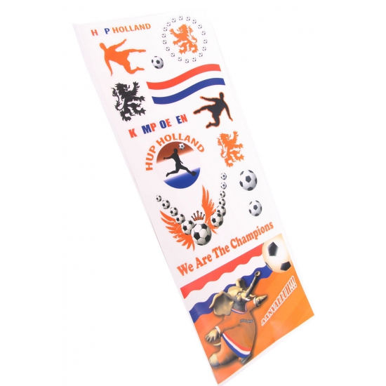 Setje Holland supporters raamstickers