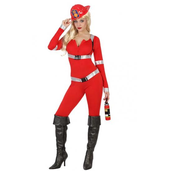 Sexy brandweer carnavalskleding