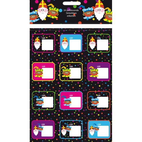 Sint stickers 24 stuks