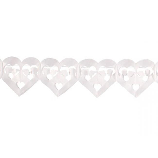 Slinger hartjes van papier