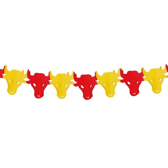 Slinger Spaanse stieren 3 meter