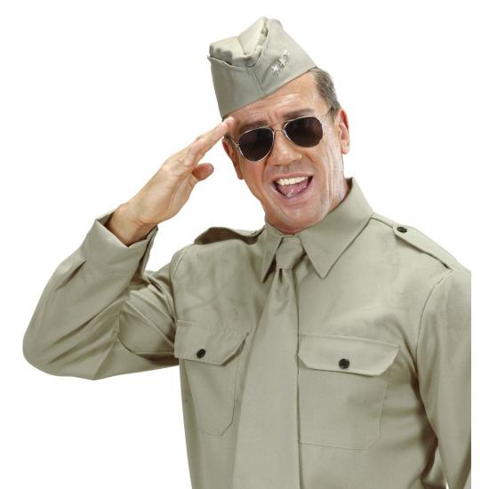 Soldaten muts met 3 sterren