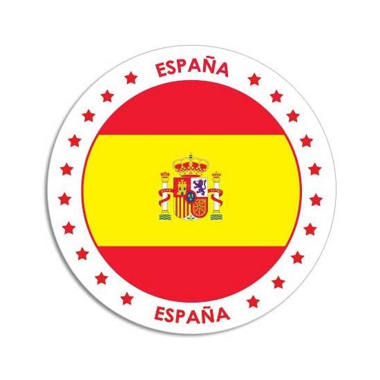 Spanje sticker