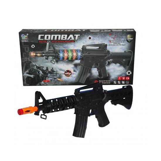 Speelgoed machinegeweer met licht en geluid