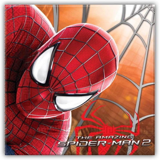 Spiderman servetten 20 stuks