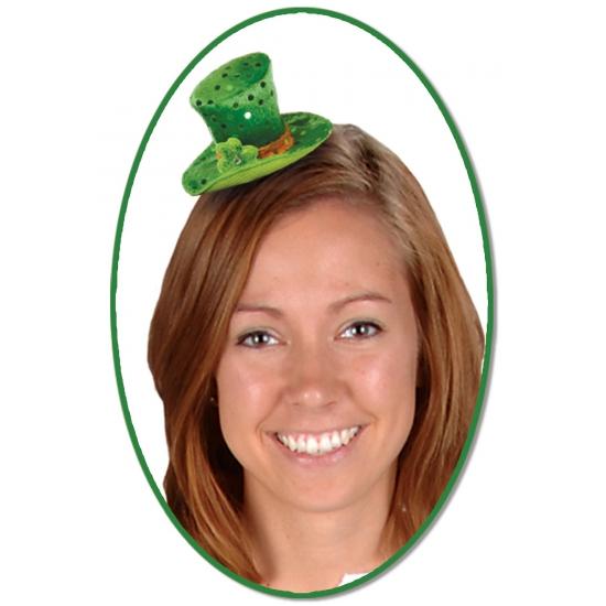 St  Patricks Day hoed op speldje
