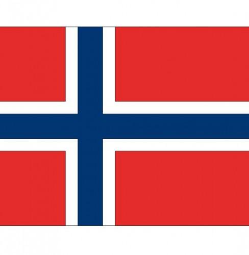 Stickers Noorwegen vlaggen