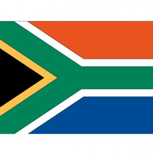 Stickers Zuid Afrika vlaggen