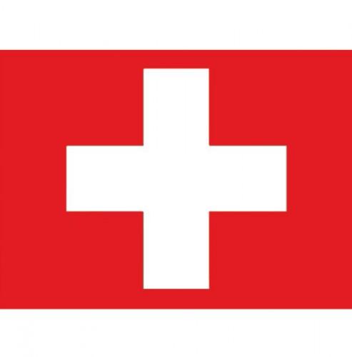 Stickers Zwitserland vlaggen