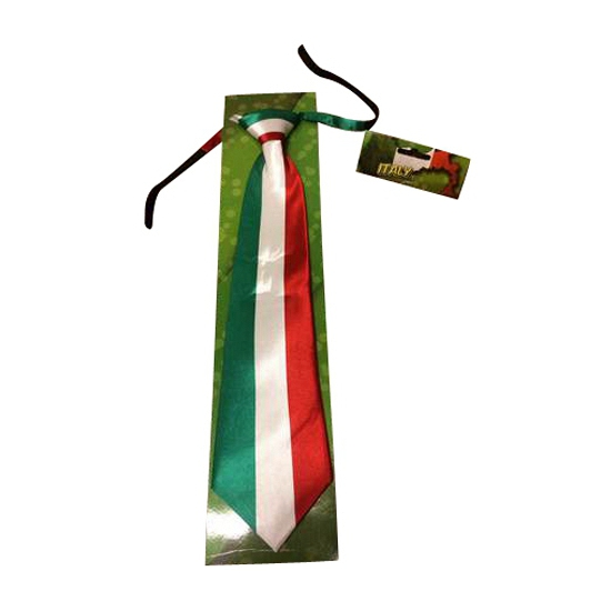 Stropdas met italiaanse vlag