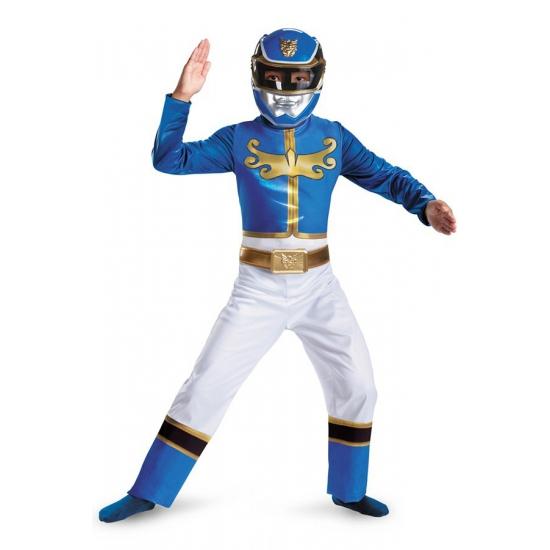 Superheld Blue Ranger kostuum