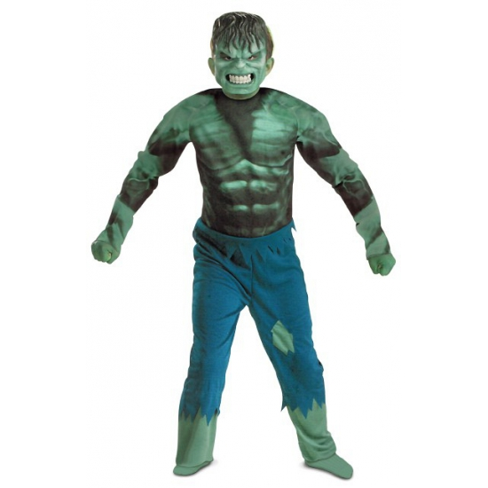 Superheld Incredible Hulk kostuum jongens