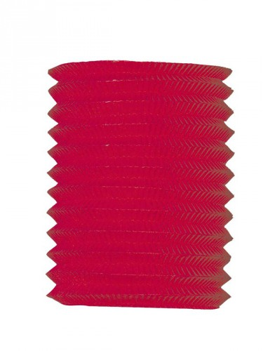 Treklampion rood 16 cm diameter