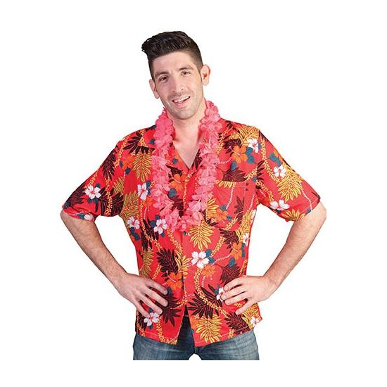 Tropische shirts rood