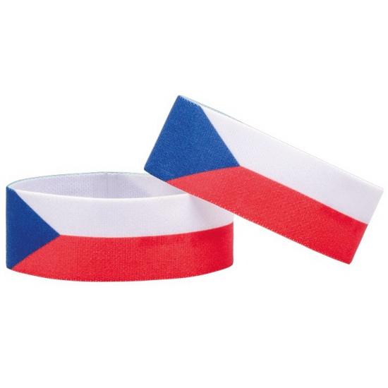 Tsjechie fan armbandje