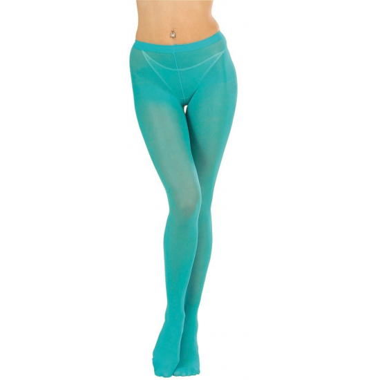 Turquoise panty voor dames