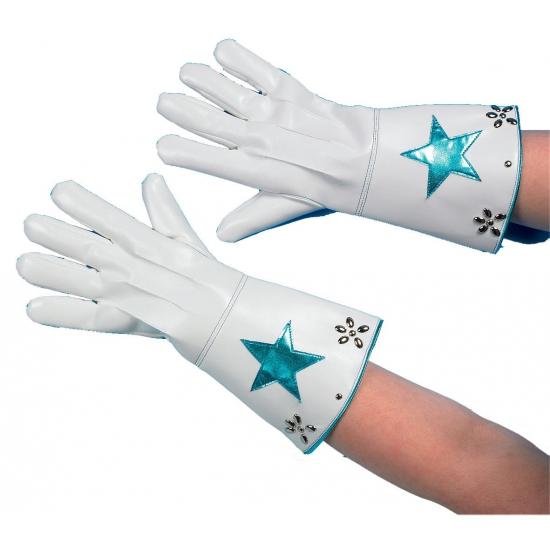 Vegas nepleren handschoenen wit