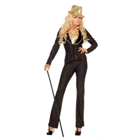 Vegas verkleed kostuum voor dames 2 delig