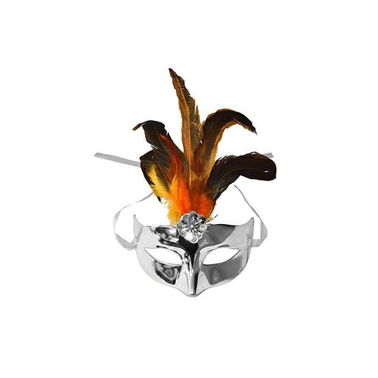 Venetiaans masker zilver
