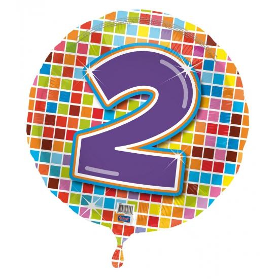 Verjaardagsballon 2 jaar helium