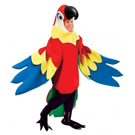 Verkleed kostuum papegaai