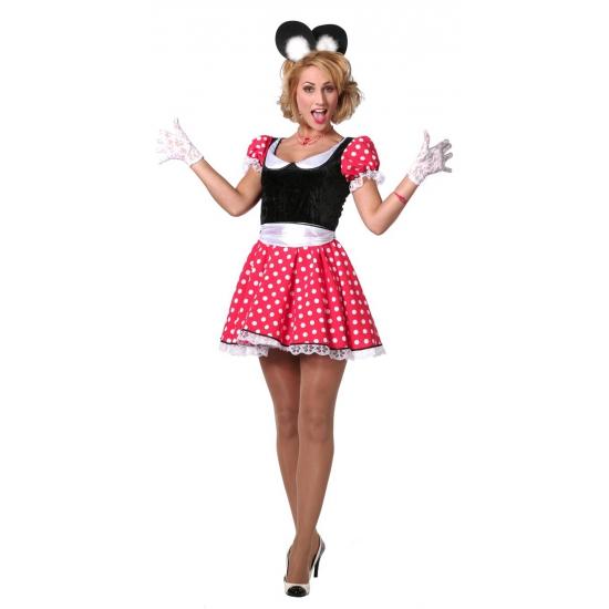 Verkleed outfit voor dames Minnie