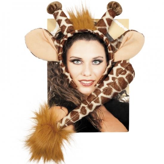 Verkleed set giraffe