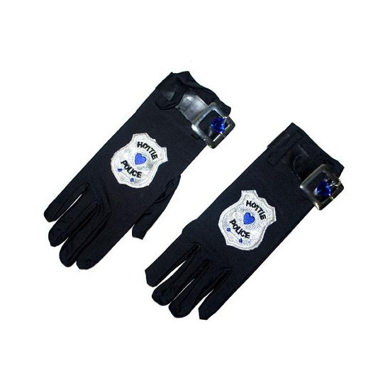 Verkleedaccesoire politie handschoenen