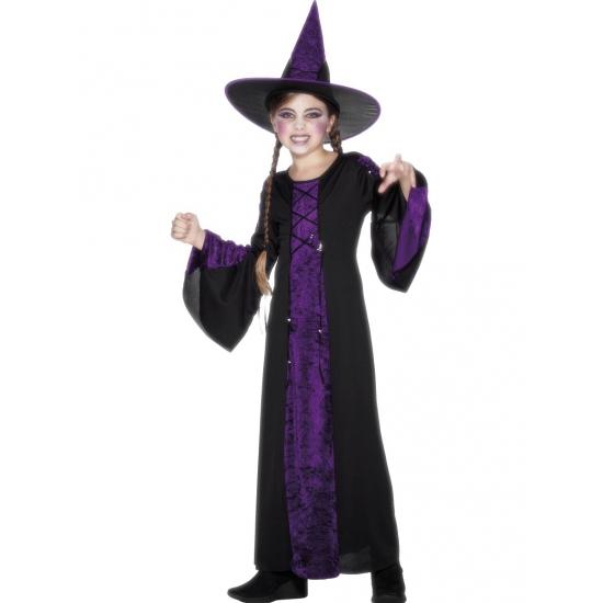 Verkleedpak heks voor kinderen