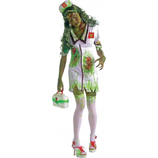 Verpleegster kostuum met bloed