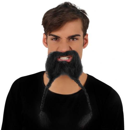 Viking snor met baard