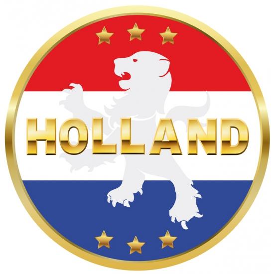 Viltjes met Holland opdruk
