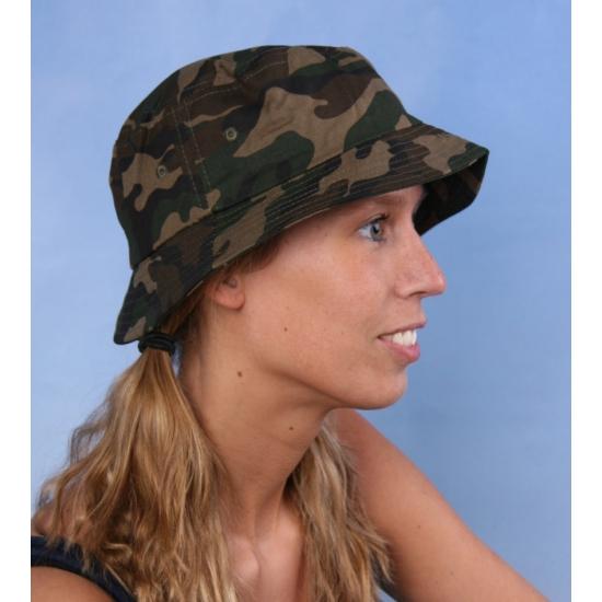 Vissershoedjes camouflage