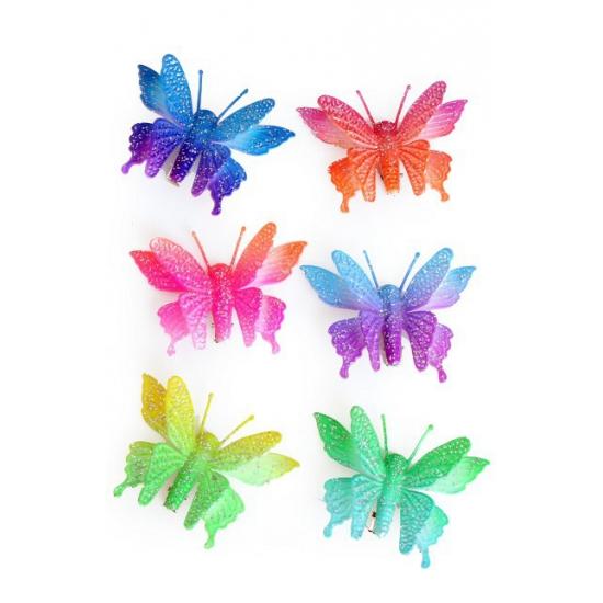 Vlinder haarspeldjes