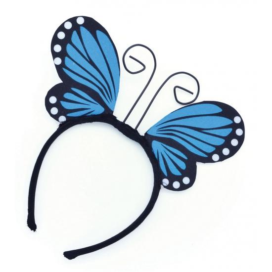 Vlinders verkleed haarbandje