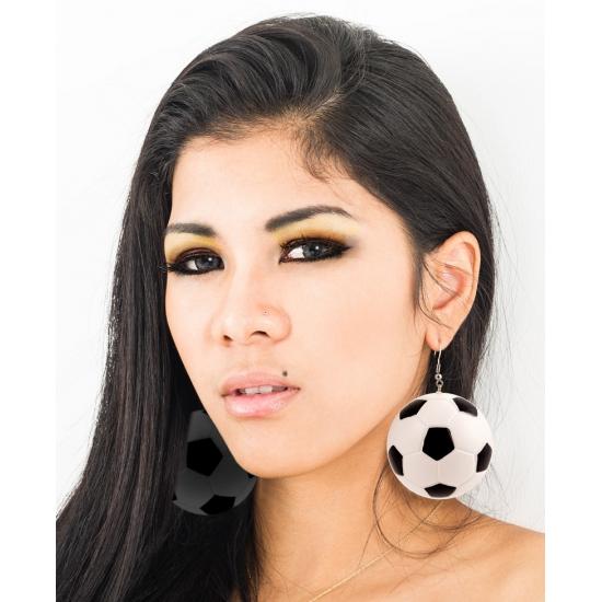 Voetbal accessoires oorbellen
