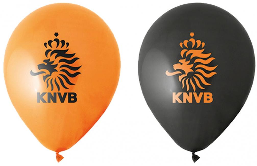 Voetbal decoratie ballonnen KNVB