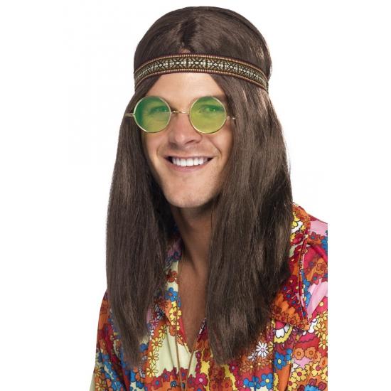 Voordelig hippie verkleed setje