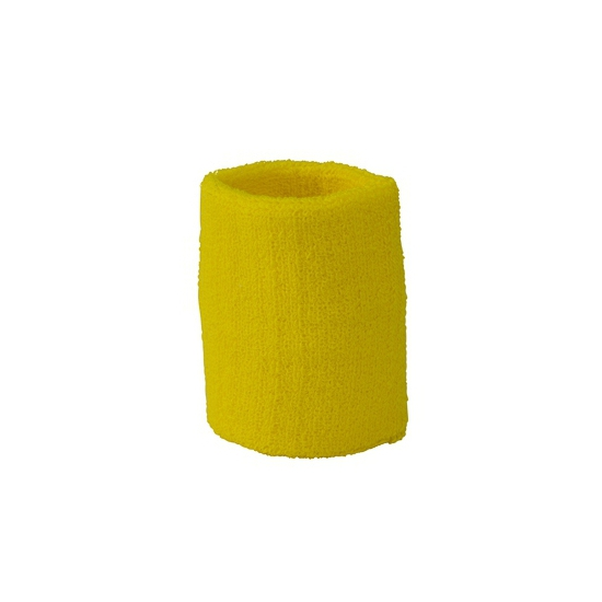 Voordelige zweetbandjes geel