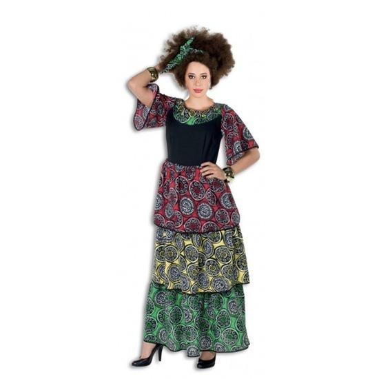 Vrolijke Jamaicaanse/Surinaamse jurk