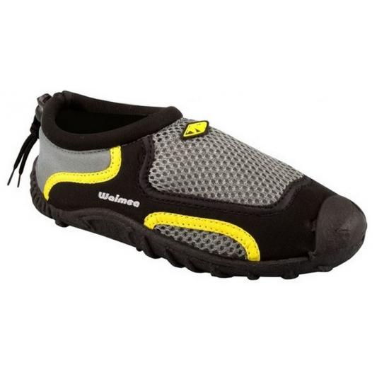 Waimea waterschoenen zwart met geel