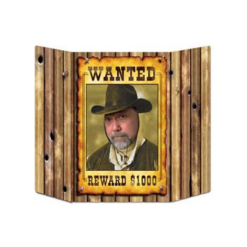 Wanted foto bord 94 x 63 cm