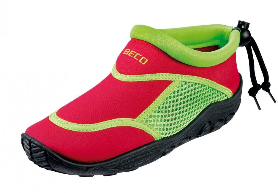 Waterschoenen voor kinderen rood en groen